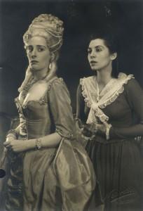 Staatstheater Kassel 1952. Johann Wolfgang von Goethe, Kabale und Liebe - Lady Milford.